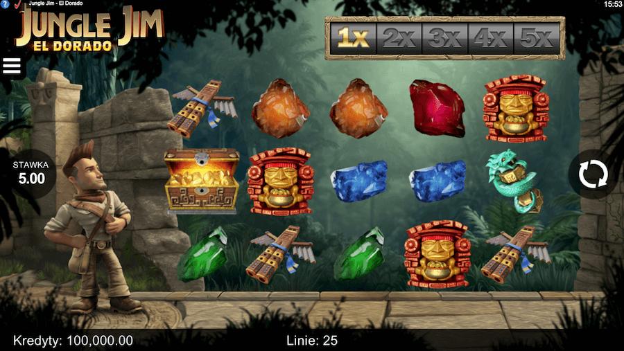 Jungle Jim El Dorado slot online