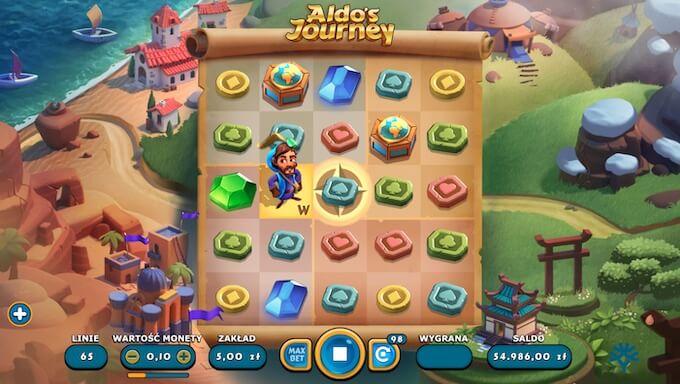 Aldo's Journey nowy automat od Yggdrasil