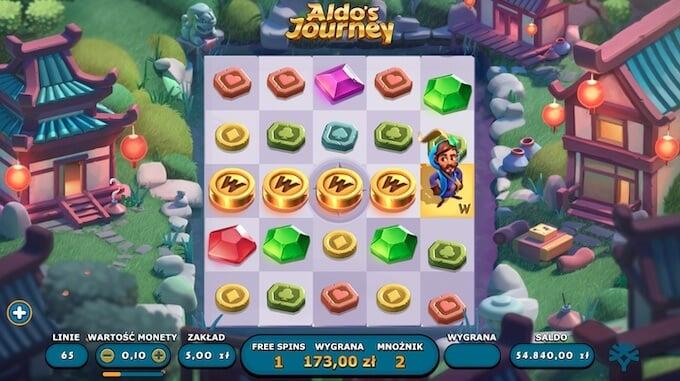 Aldo's Journey slot runda darmowe spiny
