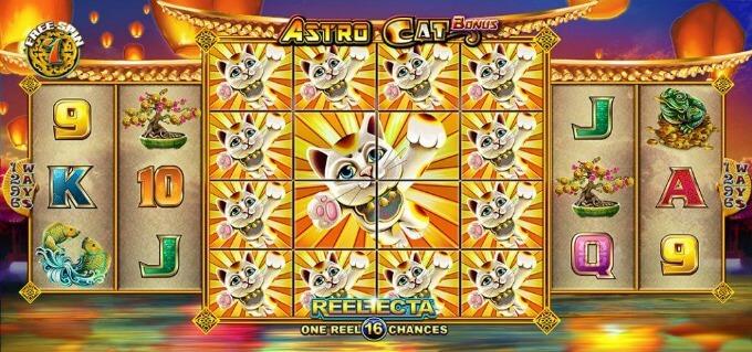 Astro Cat darmowe spiny