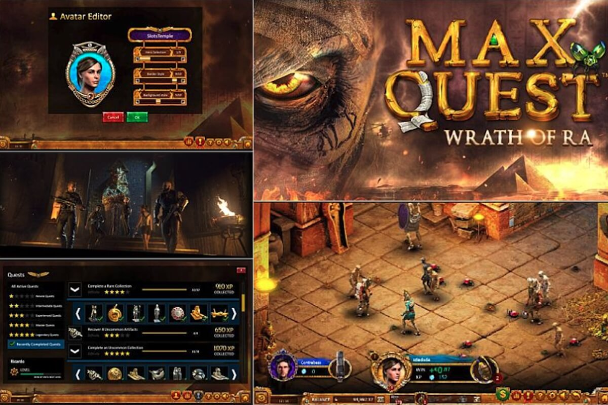 Automat Max Quest Wrath of Ra