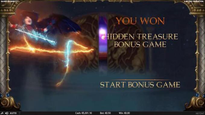 Blood Suckers - Hidden Treasure Bonus