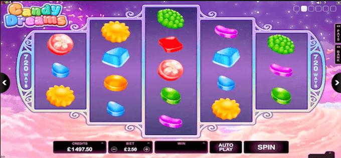 Zagraj na automacie Candy Dreams