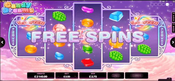 Candy Dreams Darmowe Spiny