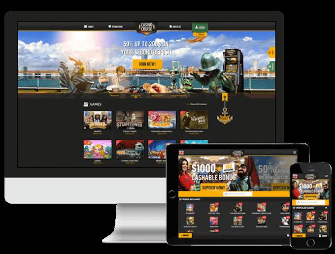 Casino Cruise - wersja mobilna