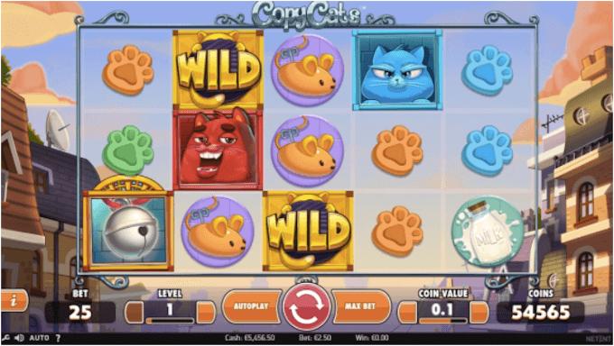 Zagraj na automacie Copy Cats!