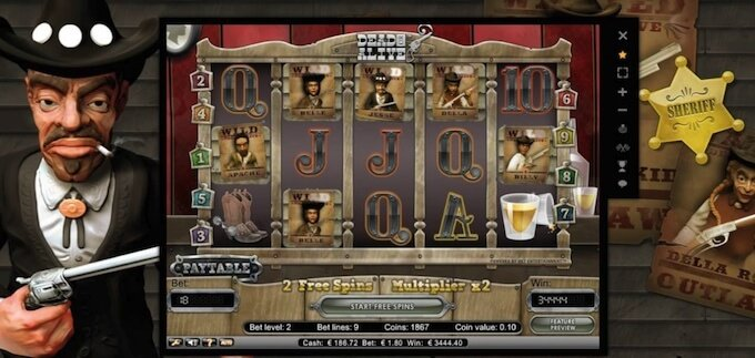 Dead or Alive slot darmowe spiny
