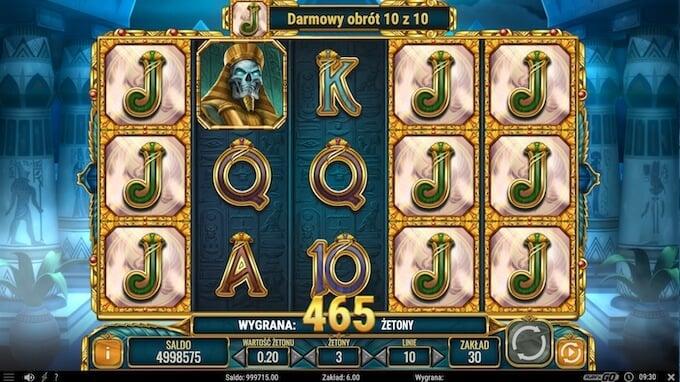Doom of Egypt slot darmowe spiny