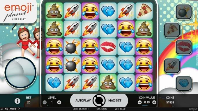 Zagraj na automacie Emojiplanet