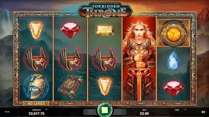 Zagraj na automacie Forbidden Throne!