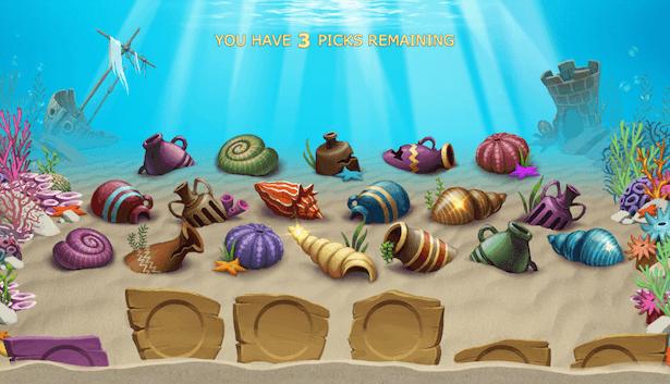 Golden Fish Tank gra bonusowa