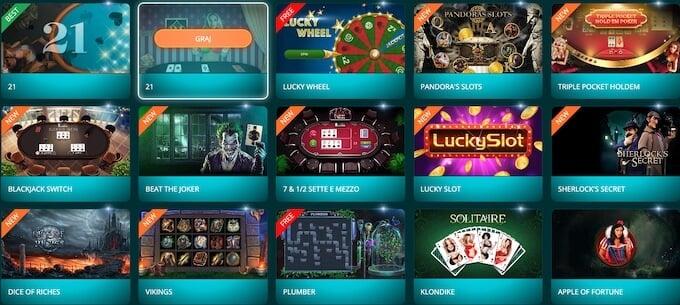 gry w kasynie 22bet
