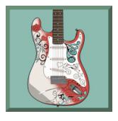 Jimi Hendrix - symbol re-spin