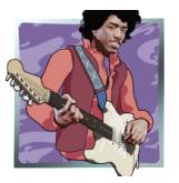 Jimi Hendrix - symbol Wild