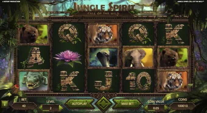 Zagraj na automacie Jungle Spirit: Call of the Wild