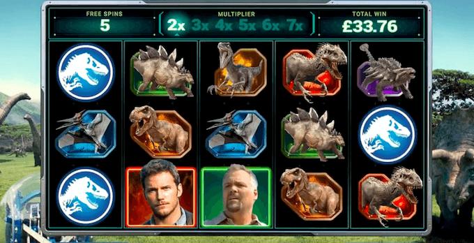 Zagraj na automacie Jurassic World