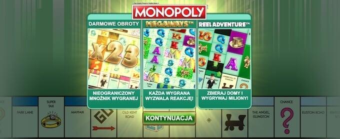 Monopoly Megaways slot od Big Time Gaming
