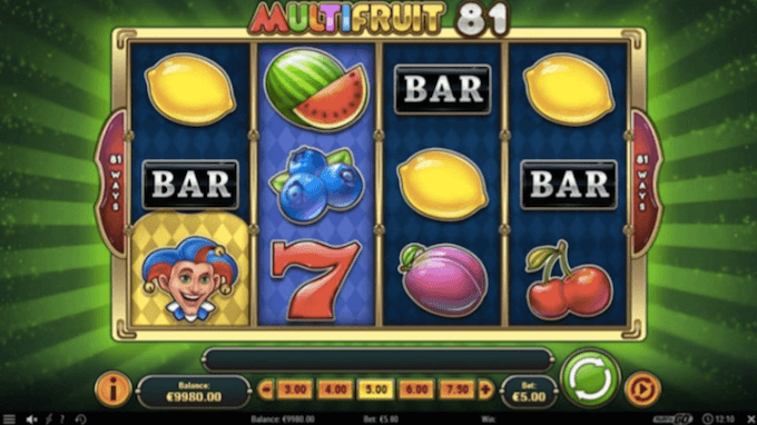 zagraj na automacie Multifruit 81