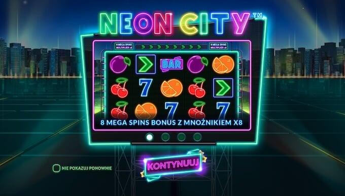 Neon City slot Wazdan