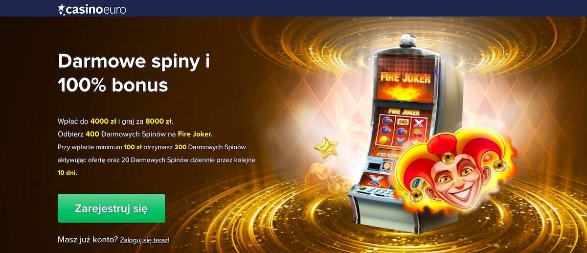 Oferta powitalna CasinoEuro