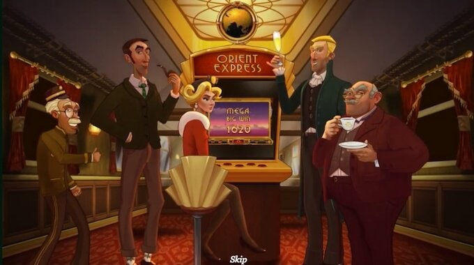 Orient Express slot by Yggdrasil