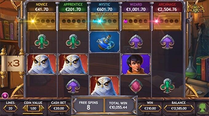 Ozwin's Jackpots - jackpot progresywny