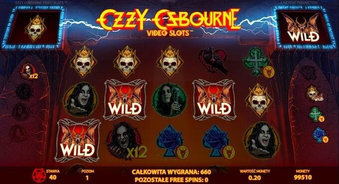 Ozzy Osbourne slot darmowe spiny