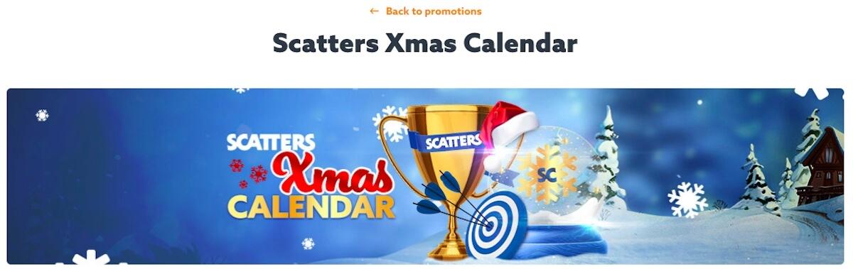 Oferty swiateczne w kasynie Scatters