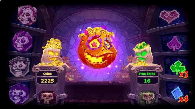 Pumpkin Smash Bonus
