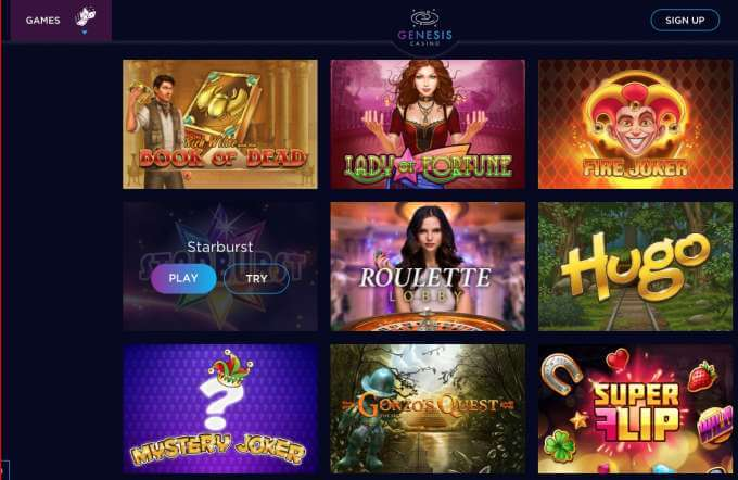 Casino Genesis