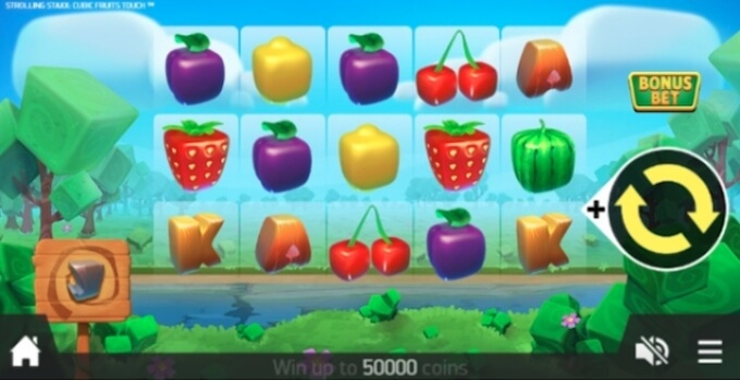 cubic fruits slot
