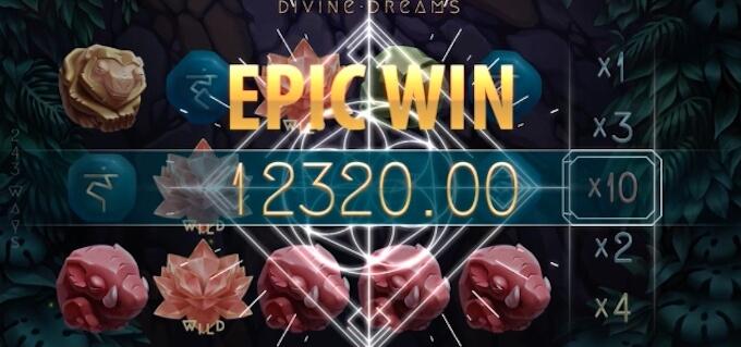 Mega Wygrana w Devine Dreams