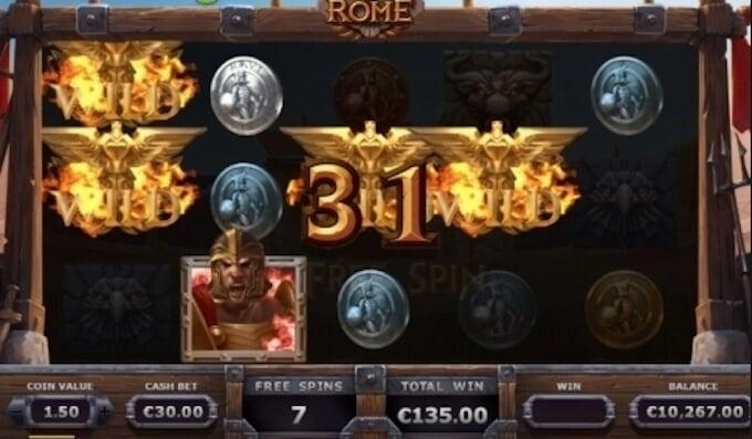 Slot Champions of Rome