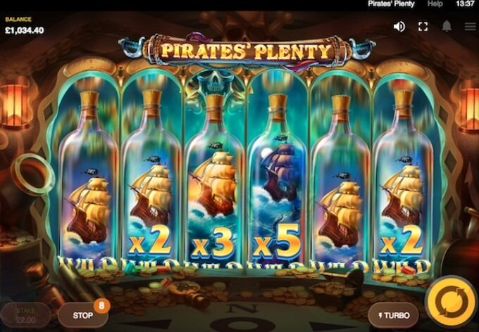 Pirates Plenty Funkcje Slotu