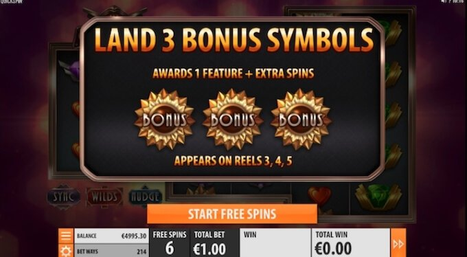 The Gran Slot Bonus