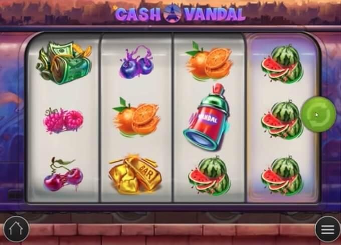 Cash Vandal Funkcje Slotu