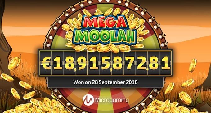 Mega jackpot w Mega Moolah