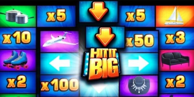 Hit it Big slot runda bonusowa