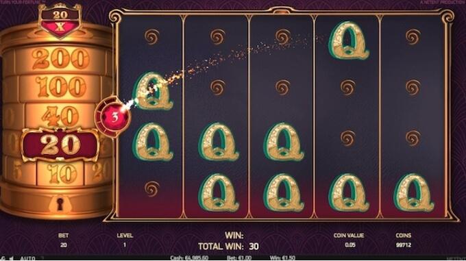 Turn Your Fortune funkcje slotu