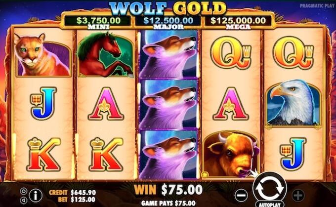 Особенности игрового автомата Wolf Gold