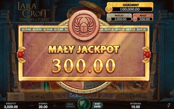 Zgarnij swoj jackpot w nowym slocie Lara Croft w kasynie zet