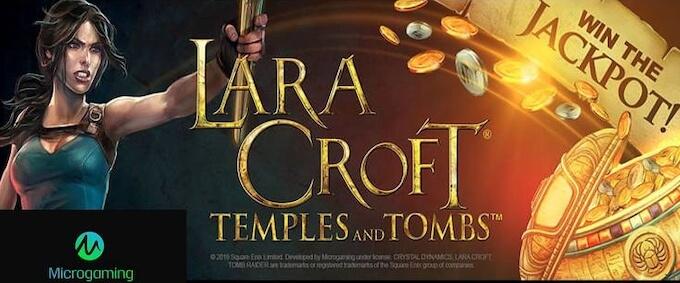 Lara Croft Temples and Tombs slot od Microgaming