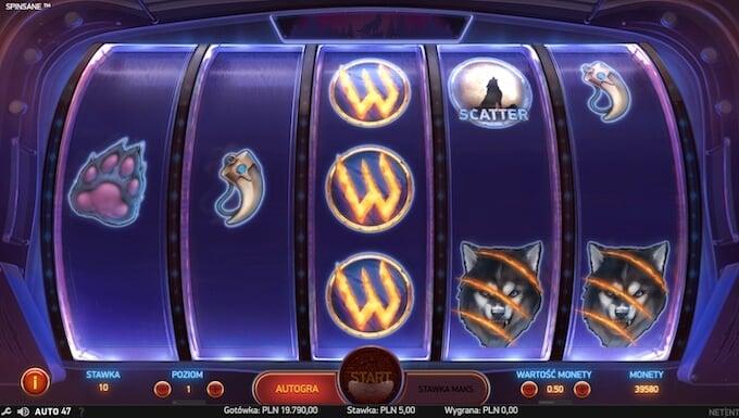 kliknij tu aby zagrac w slot spinsane od netent w kasynie alf