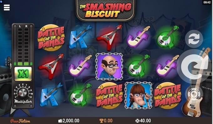 The Smashing Biscuit funkcje slotu