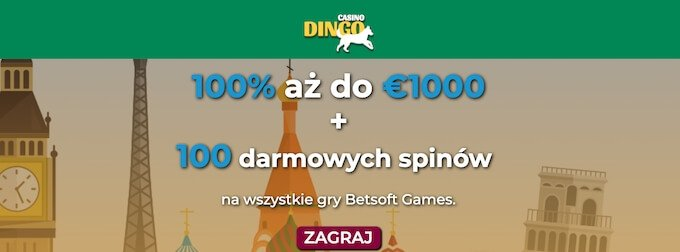 Dingo Casino nowe kasyno online bonus powitalny
