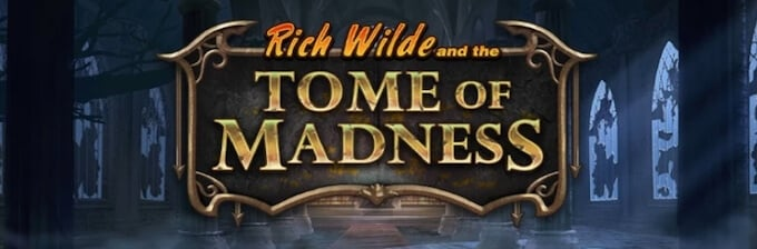 Rich Wilde and the Tome of Madness slot Play N GO przegląd