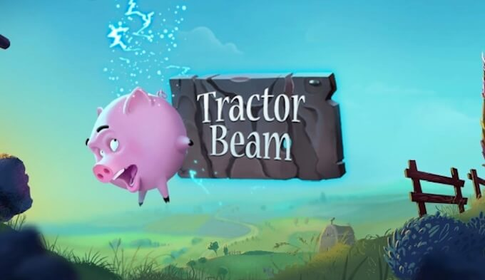 Tractor Beam slot od No Limit City grafika