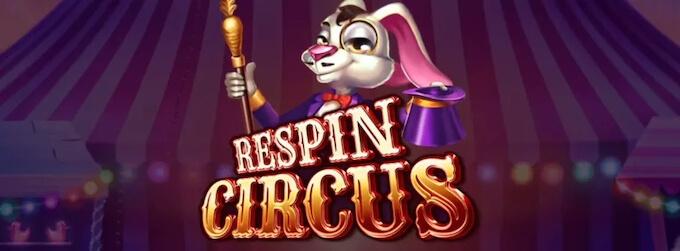 Respin Circus nowy slot Elk Studios