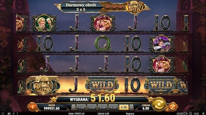Wild Rails slot od Play n Go darmowe spiny