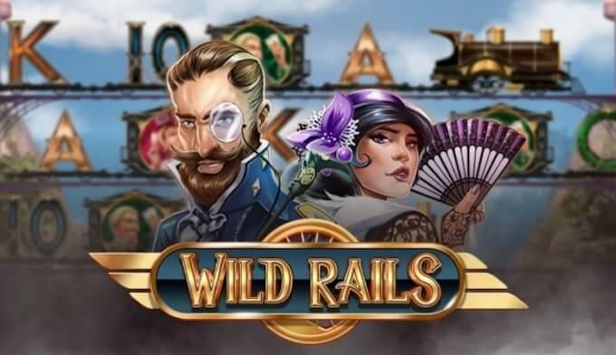 Wild Rails slot od Play N GO grafika